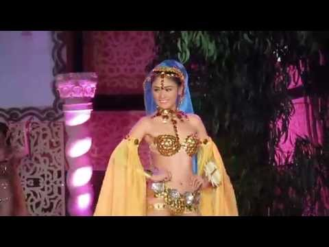 Maria Isabel - Bikini Open 2014 Finals, Model 1 (Bollywood Theme)