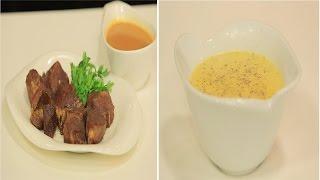 لحم محمر مع سلطة فلفل الوان - شوربة قرع - سلطة كوسة و خيار   مغربيات حلقة كاملة