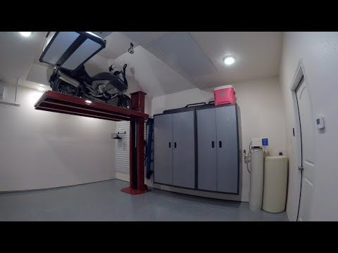 Motorcycle Lift – Garage Project