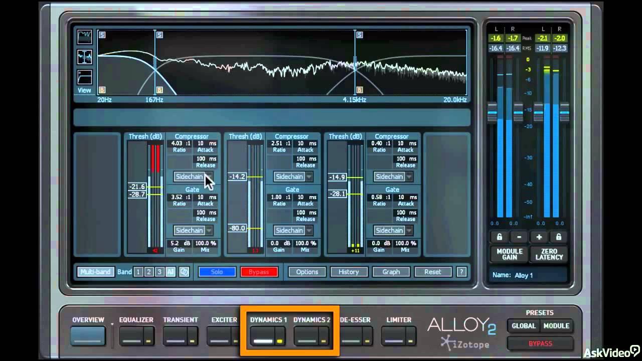 iZotope Alloy 2: Mixer's Toolbox - 1  Intro to Alloy 2