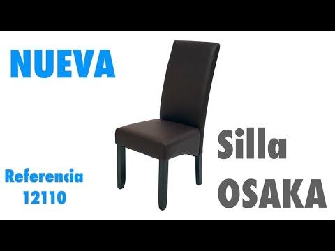 Nueva silla wengue Osaka, sillas polipiel de salón comedor ...