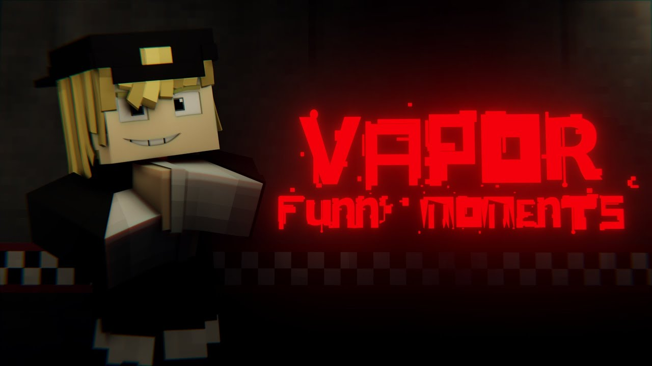 Vaporthegamer Minecraft Animated Funny Moments. [FNaF VR] (Old animation) #vaportrynottolaugh