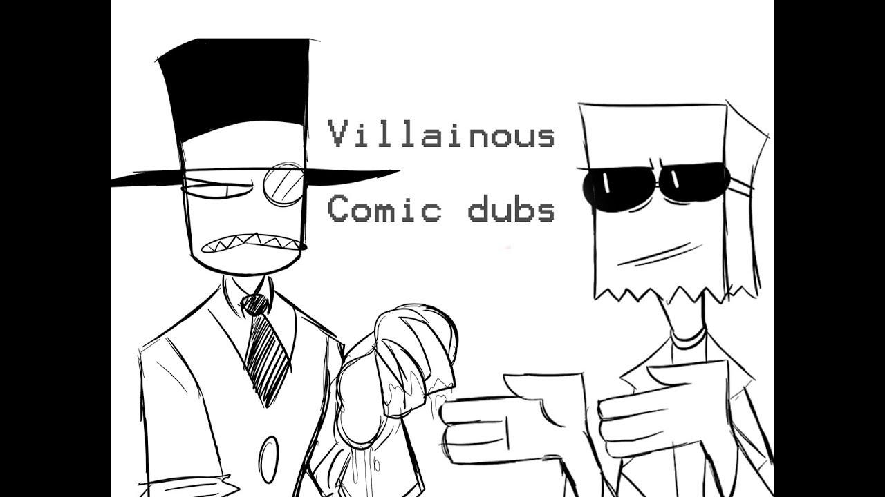 Villainous - Flug & Black Hat Comic Dubs [ Part 1]