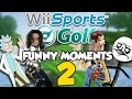 Michael Jackson's True Secret! Wii Sports Golf Funny Moments Part 2!!