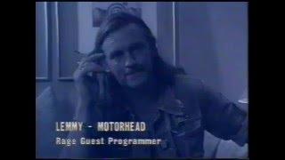 Lemmy - Motorhead programs rage on 22nd June 1991