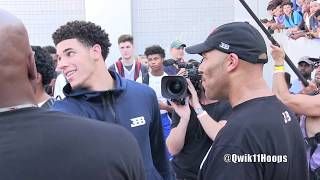 What The F*CK Picture Lonzo Ball Rollin In A Rolls Royce After Watching LaMelo Ball Get The Win