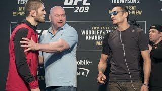 Дана Уайт: Бой Хабиба с Тони Фергюсоном на UFC 209 можно было спасти
