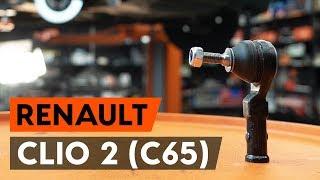 RENAULT CLIO Kormány gömbfej cseréje: felhasználói kézikönyv