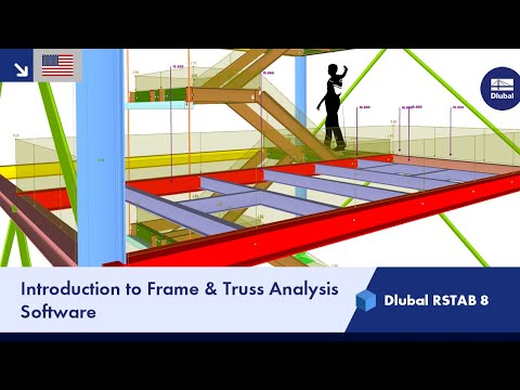 Dlubal RSTAB 8 - Introduction to the Structural Frame & Truss Analysis Software