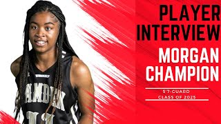 A1 Hoops Report Coach Allen interviews 2025 Morgan Champion