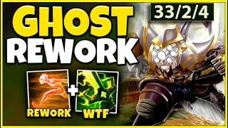 *NEW REWORK* I GOT A 1V5 MASTER YI PENTA WITHOUT ULT (PERMA SPEED BUFF) - League of Legends