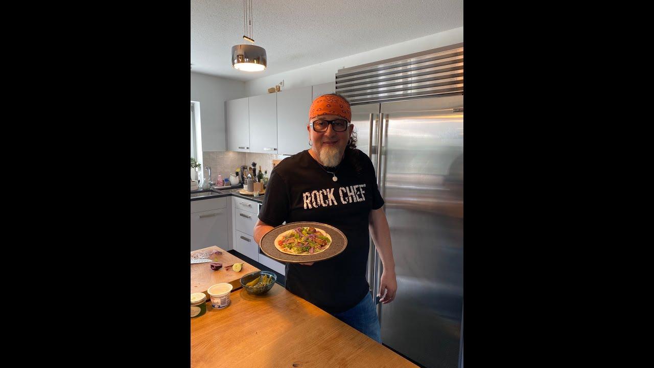 """Hähnchen Wrap & Tomatensauce - Stefan Marquard @ Home """"ungeschminkt & ungeschnitten"""""""