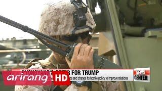 Repeat youtube video N. Korea to renew ties with Washington if U.S. troops withdraw from Korean peninsula