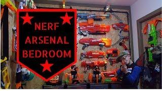 NERF ARSENAL BEDROOM