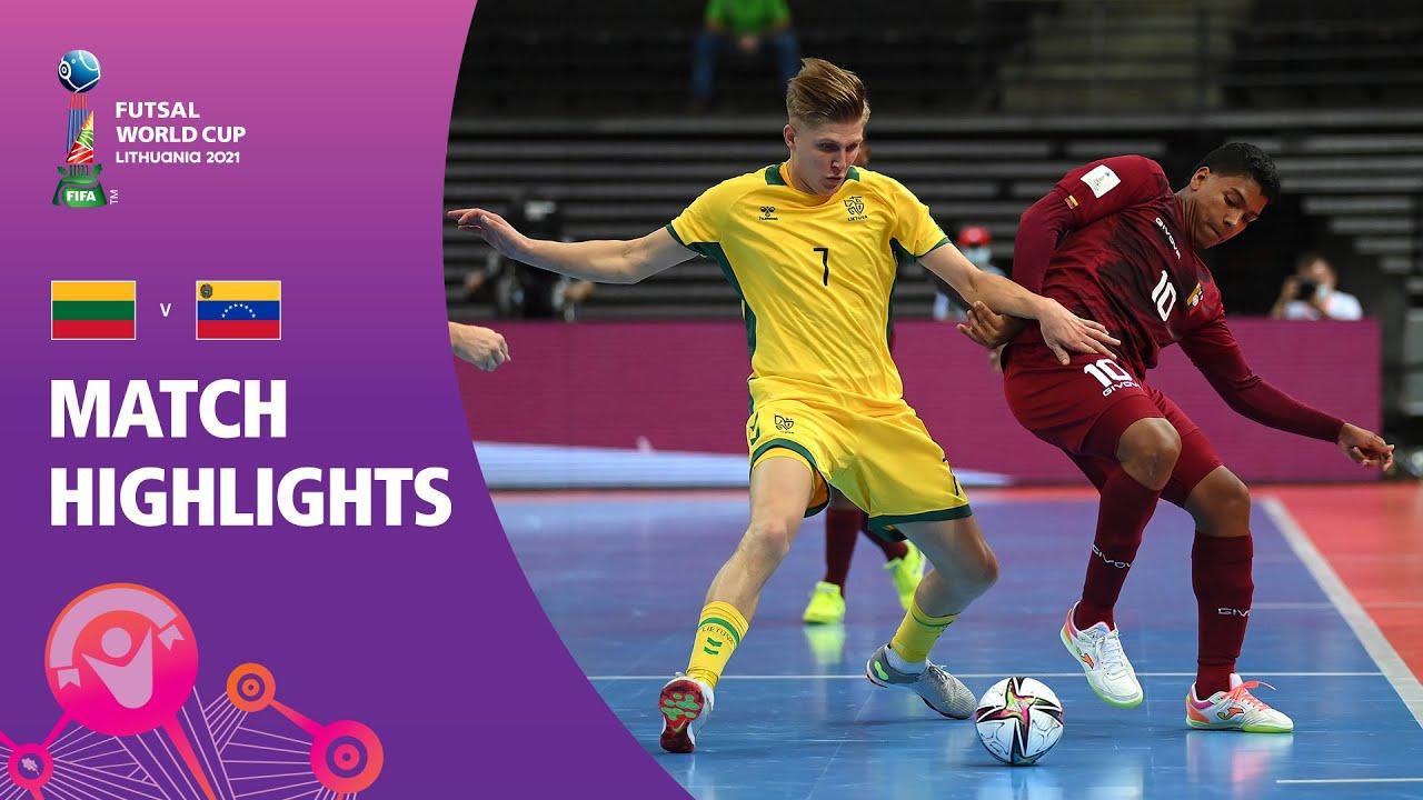 Lithuania v Venezuela   FIFA Futsal World Cup 2021   Match Highlights