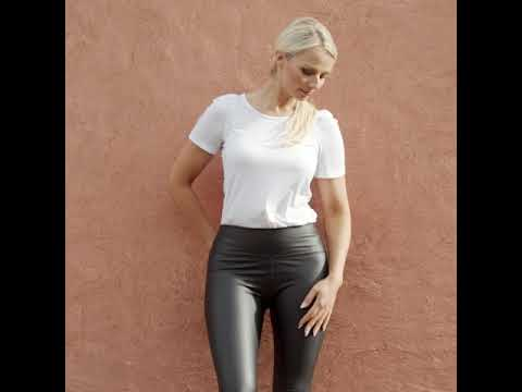 Wet Look Leggings As Seen on RTE from YouTube · Duration:  1 minutes