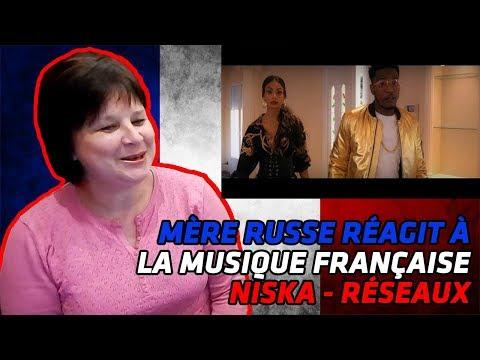 RUSSIAN MOM REACTS TO | Niska - Réseaux | REACTION