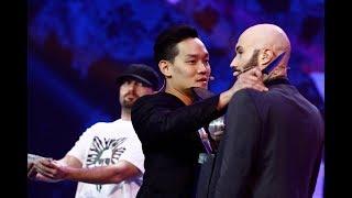 Moment de panică! Mihai Bendeac este speriat cu un cuțit de un magician din Malaezia