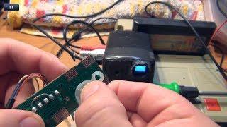 """""""Чистка"""" токопроводящих кнопок для пультов/приставок методом срезания слоя) (cut)"""