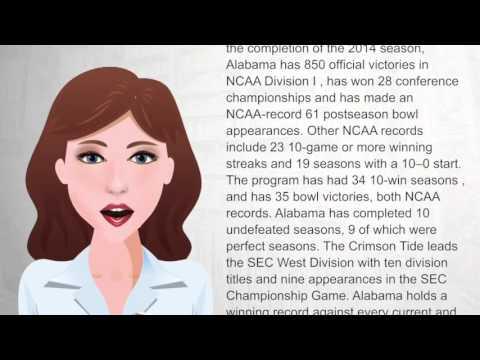 Alabama Crimson Tide football - WikiVideos