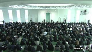 Friday Sermon 3rd February 2012 (English)
