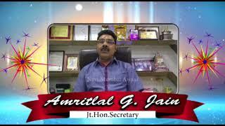 Navi Mumbai Awaaz - Amritlal G Jain Diwali Wishes 2017
