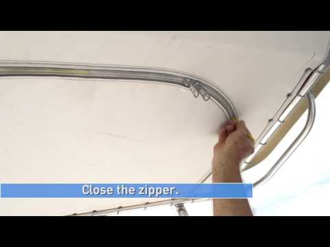 Lubricating Zippers On Board Your Boat