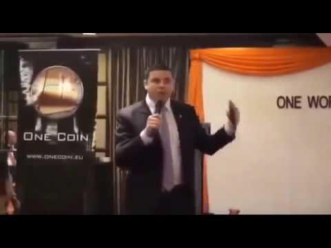 Founder of OneCoin Dr Ruja Ignatova CEO,COO  Live Presentation  Unlike Bitcoin Hidden Founder