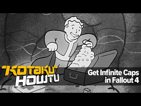 How To Get Infinite Caps in Fallout 4