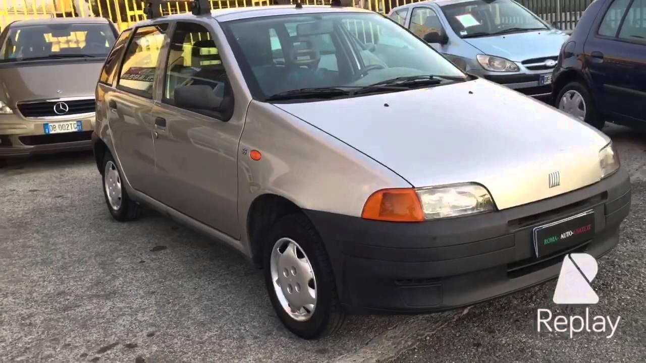 Fiat Punto www.roma-auto-usate.it - YouTube on fiat multipla, fiat marea, fiat coupe, fiat ritmo, fiat x1/9, fiat stilo, fiat cars, fiat spider, fiat seicento, fiat 500 abarth, fiat cinquecento, fiat barchetta, fiat bravo, fiat doblo, fiat panda, fiat 500l, fiat linea, fiat 500 turbo,