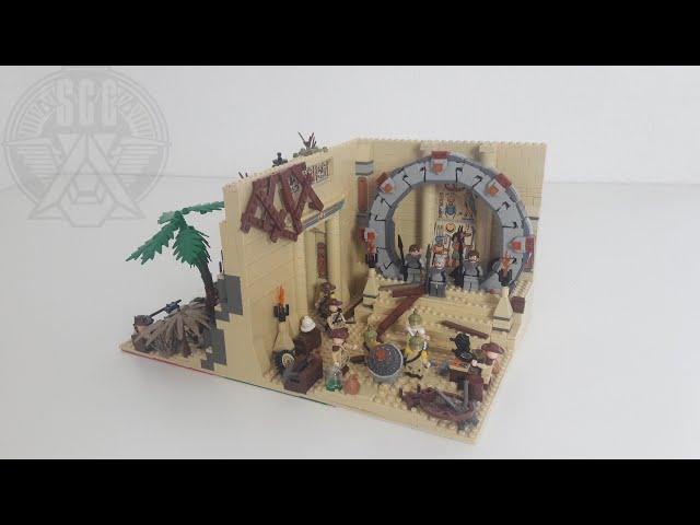 Lego Stargate Moc: Die Ankunft der Jaffa