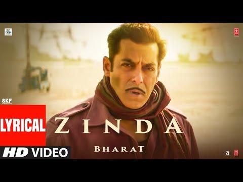 LYRICAL: Zinda Song  | Bharat | Salman Khan |Julius Packiam & Ali Abbas Zafar ft. Vishal Dadlani