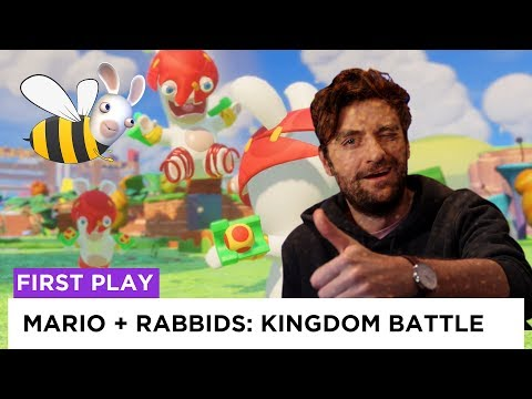Luigi, American Sniper - Mario + Rabbids: Kingdom Battle | firstPLAY | screenPLAY
