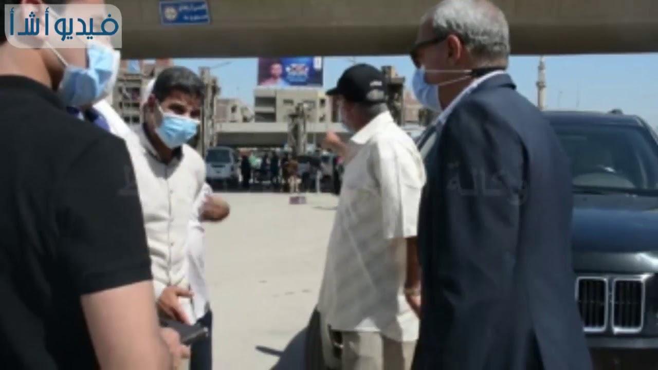 بالفيديو : محافظ القليوبية يقود حملة لإزالة الإشغالات ببنها