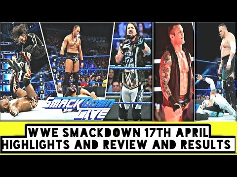 WWE Smackdown 17th April Highlights And Review And Results/World Wrestling Tamil