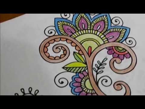 Yetişkinler Için Boyama Kitabı Renkler Sokağı Youtube