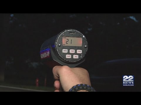Police issue citations to people speeding near Wilbraham Middle School