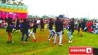 #Lathi #khel लाठी खेल एक साथ 16 खिलाड़ी खेलते हुवे
