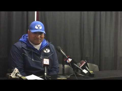 2018 BYU football: Kalani Sitake talks Cougars' 35-27 loss to Utah