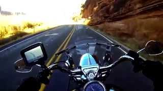 3000 miles Motorcycle Road Trip in West America on Road King