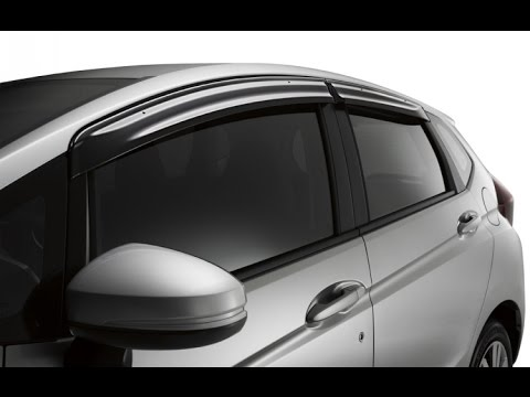 Episode #268 - 2015+ Honda Fit Door Visor Installation & Episode #268 - 2015+ Honda Fit Door Visor Installation - YouTube Pezcame.Com