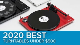 2019 Best Turntables under $500!