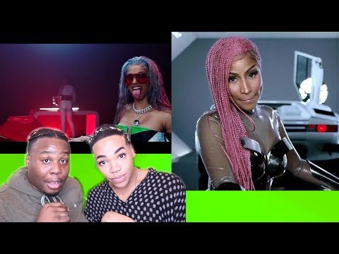 MIGOS MOTORSPORT   REACTION   CARDI B & NICKI LOOK AMAZING Zachary Campbell