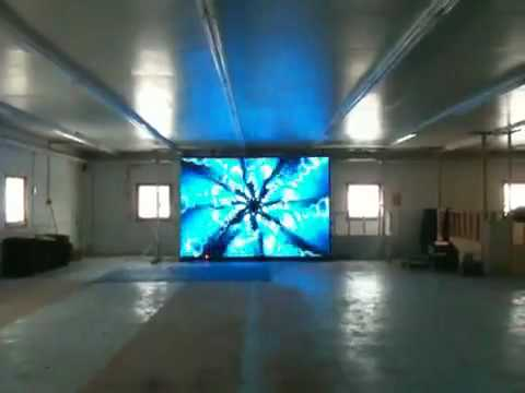 Video curtain for stage design with windows media player