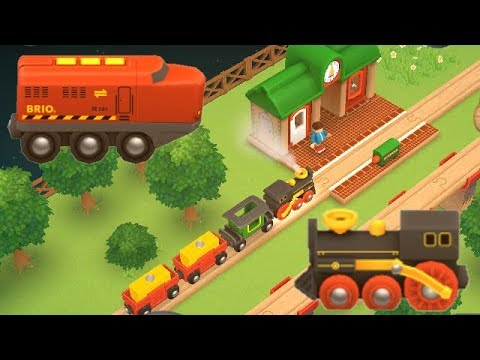 Brio World Railway App Video for Kids Trains / Eisenbahn Zug Kinderfilm