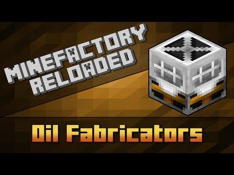 MineFactory Reloaded - Oil Fabricators