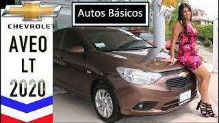 Chevrolet Aveo 2020 LT Precio Y Características