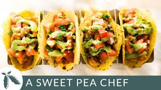 Spicy Shrimp Tacos | A Sweet Pea Chef