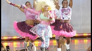 Nicki Minaj performing at GMA Summer Concert 2011