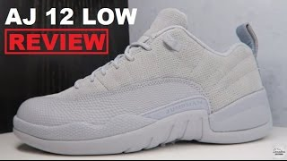 "Air Jordan 12 Low ""Wolf Grey"" 🐺 2017 Retro Sneaker Detailed Review EARLY LOOK!"